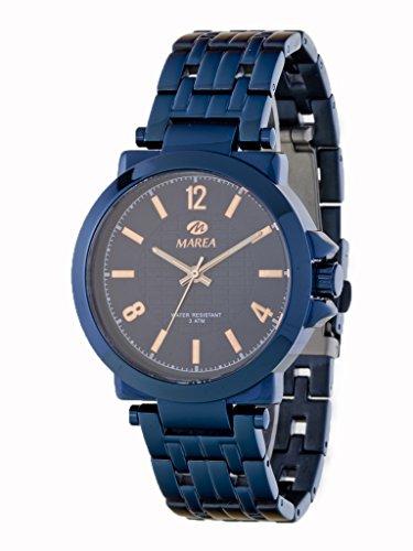 Uhr Flut Mann b54082 4 blau