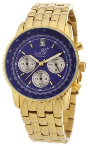 Ingraham Herren-Armbanduhr XL Adelaide Chronograph Quarz Edelstahl beschichtet IG ADEL1612205