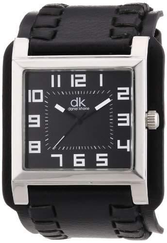 dk daniel khone Herren-Armbanduhr DK Set Analog Quarz Silikon DKGA-90682-SET