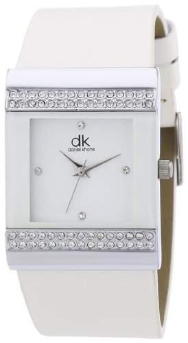 dk daniel khone Damen-Armbanduhr Woman Analog Quarz Leder DKLA-90303-14L