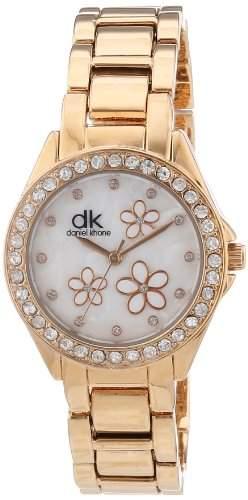 dk daniel khone Damen-Armbanduhr Woman Analog Quarz Alloy DKLA-90665-74M