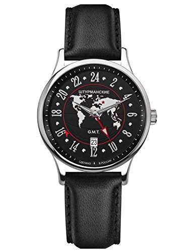 Sturmanskie Sputnik GMT Herrenarmbanduhr 51524-3301803