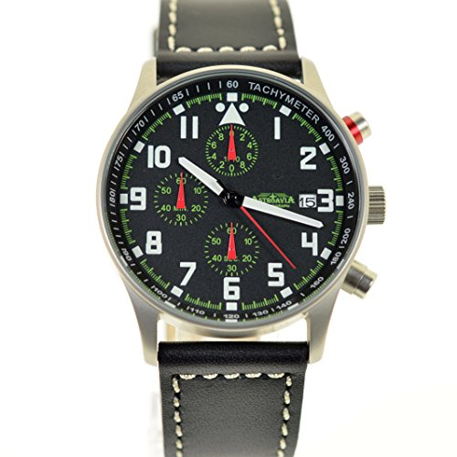 Astroavia 6 Zeiger Profi Chronograph Air Craft No 16