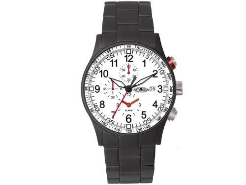 Astroavia H9S Chronograph Quarz Edelstahl mit Alarm