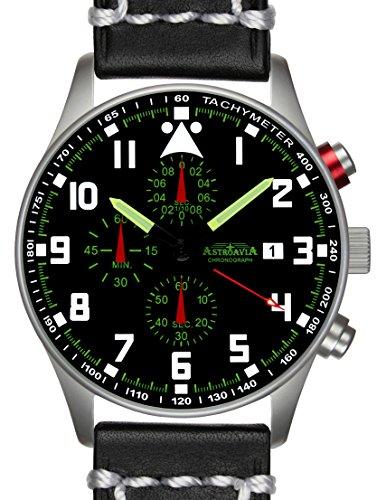 N33L3 42mm Astroavia Chronograph Uhrenarmband
