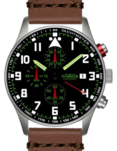N33L6 42mm Astroavia Chronograph Uhrenarmband