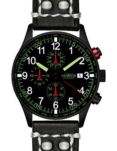 N37BL2 42mm Astroavia Chronograph Uhrenarmband