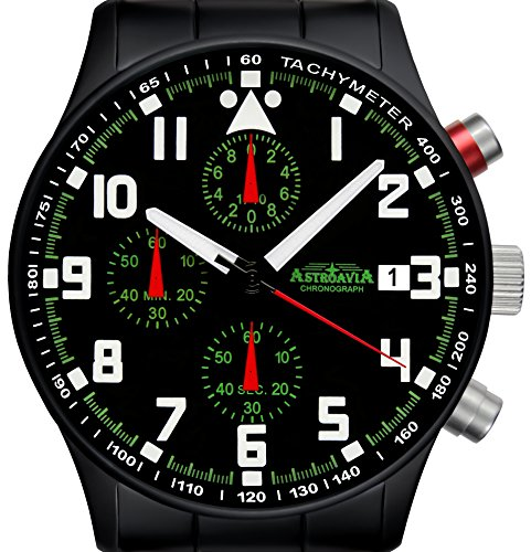 N93BS Chronograph Edelstahl 40mm Astroavia