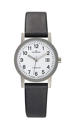 Dugena Damen-Armbanduhr Titan Analog Quarz Titan 4460327