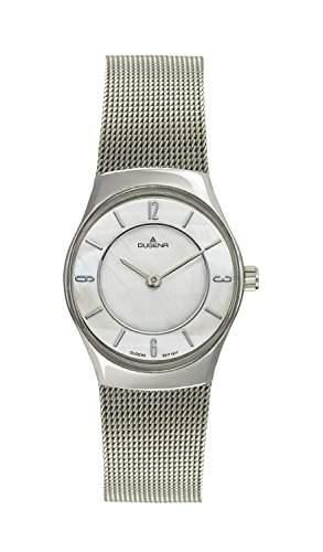 Dugena Damen-Armbanduhr Design Analog Quarz Edelstahl 4460341