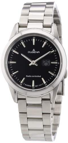 Dugena Damen-Armbanduhr XS Analog Quarz Edelstahl 4460478