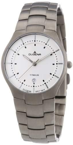 Dugena Herren-Armbanduhr Analog Quarz Titan 4460483