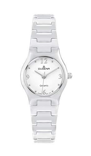 Dugena Damen-Armbanduhr Keramik Analog Quarz Keramik 4460508