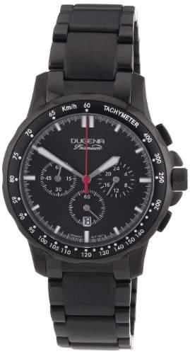 Dugena Herren-Armbanduhr XL Imola Evo Chronograph Quarz Edelstahl 7000017