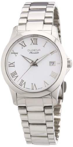 Dugena Damen-Armbanduhr XS Premium Analog Quarz Edelstahl 7000106