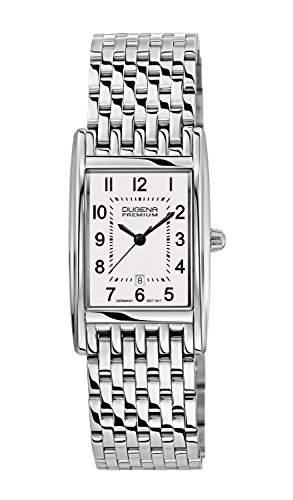 Dugena Damen-Armbanduhr Premium Analog Quarz Edelstahl 7000120