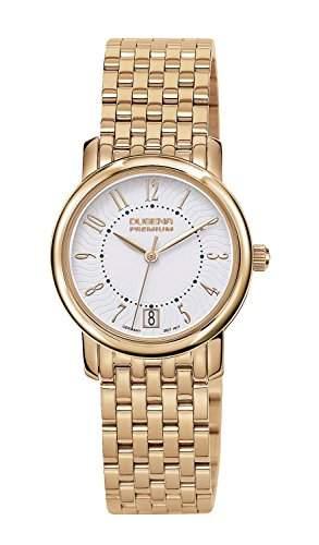 Dugena Damen-Armbanduhr RONDO PETIT ARABICA Analog Quarz Edelstahl 7090132