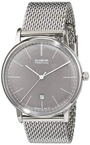 Dugena Unisex-Armbanduhr Analog Quarz Edelstahl 7090230