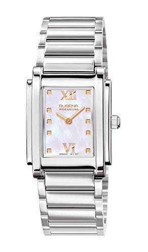 Dugena Damen-Armbanduhr Analog Quarz Edelstahl 7090256