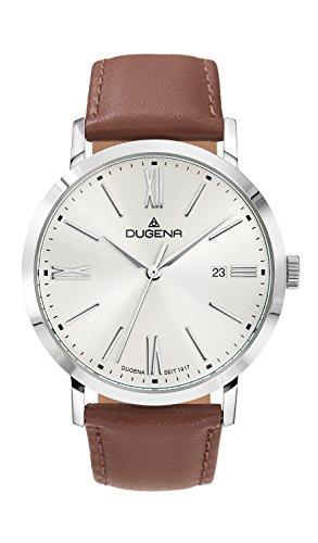 Dugena Trend Line Sirius Armbanduhr 37mm silber braun