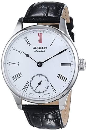 Dugena Herren-Armbanduhr EPSILON 4 Analog Handaufzug Leder 7000058