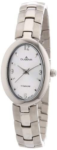 Dugena Damen-Armbanduhr XS Analog Quarz Titan 4460360