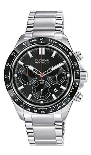 Dugena Herren-Armbanduhr IMOLA XL CHRONO Chronograph Quarz Edelstahl 7090170