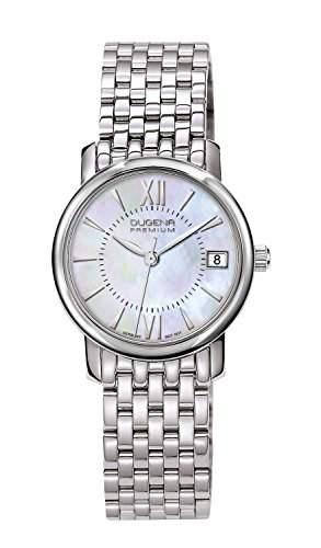 Dugena Damen-Armbanduhr RONDO PETIT Analog Quarz Edelstahl 7090138