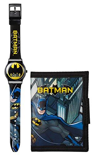Batman Armbanduhr und Geldboerse Set