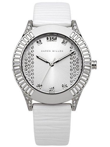 Karen Millen Damen Lederband Uhr K113