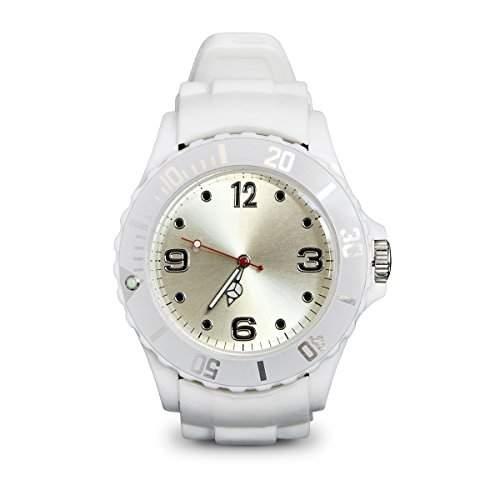 Silikon Armbanduhr Uhr Unisex Pink