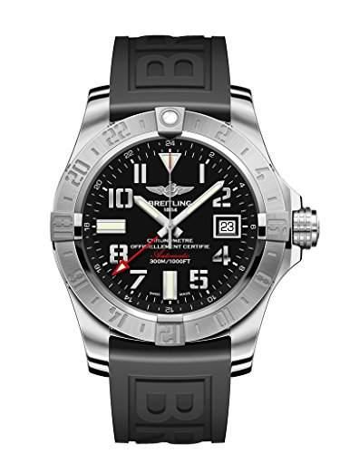 Breitling Herren-Armbanduhr Avenger Analog Automatik Kautschuk A3239011BC34152S