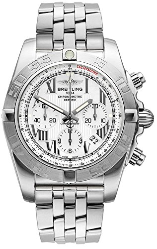 Breitling ab011011 a691 375 a Armbanduhr Armband in Stahl