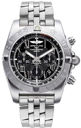 Breitling AB011011 B956 375 A Armbanduhr Armband in Stahl