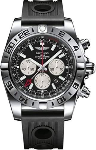 Breitling Herren-Armbanduhr Chronomat Chronograph Automatik Kautschuk AB0413B9BD17201S