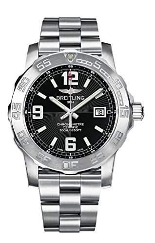 Breitling Herren-Armbanduhr Colt Analog Quarz Edelstahl A7438811BD45173A
