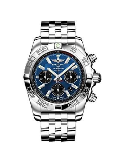 Breitling Herren-Armbanduhr Windrider Chronograph Automatik Edelstahl AB011012C789375A