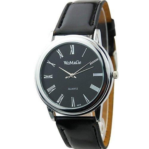 Neu Fashion Classic Design Damen Uhr Schwarz