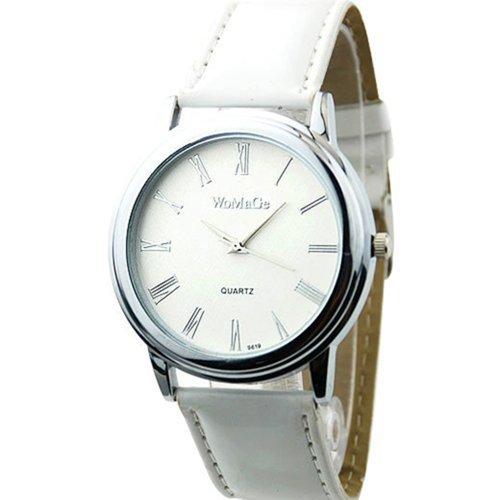 Neu Fashion Classic Design Damen Uhr Weiss