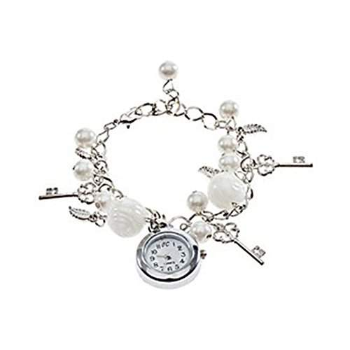 Damen Maedchen Fashion Quartz Charms Armband Armbanduhr Damen