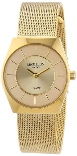 Mike Ellis New York Damen-Armbanduhr XS Analog Quarz L1126AGM1