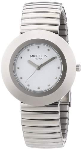 Mike Ellis New York Damen-Armbanduhr XS Analog Quarz Edelstahl L2234ASM1