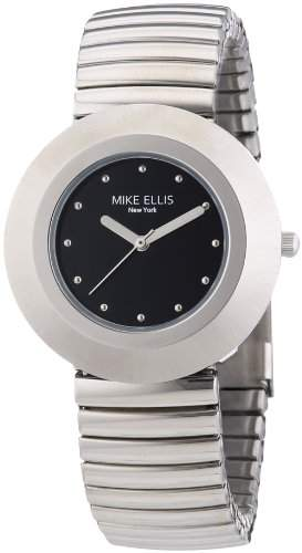 Mike Ellis New York Damen-Armbanduhr XS Analog Quarz Edelstahl L2234ASM2