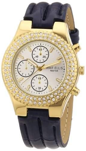 Mike Ellis New York Damen-Armbanduhr Analog Quarz L2618AGU2