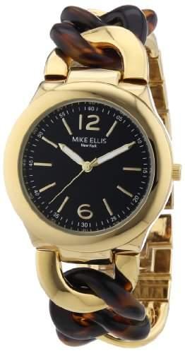 Mike Ellis Damen-Armbanduhr Analog Quarz Alloy L3079AGM1