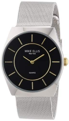 Mike Ellis New York Herren-Armbanduhr XS Analog Quarz Edelstahl M1126ASM2