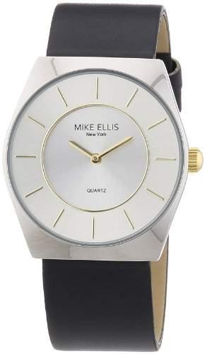 Mike Ellis New York Herren-Armbanduhr XS Analog Quarz Kunstleder M1126ASU1