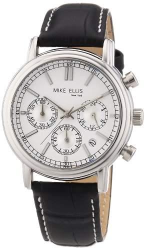 Mike Ellis New York Herren-Armbanduhr Analog Quarz M2263SSL1