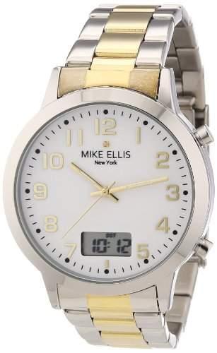 Mike Ellis New York Herren-Armbanduhr Analog-Digital Quarz Edelstahl M2612ASM4