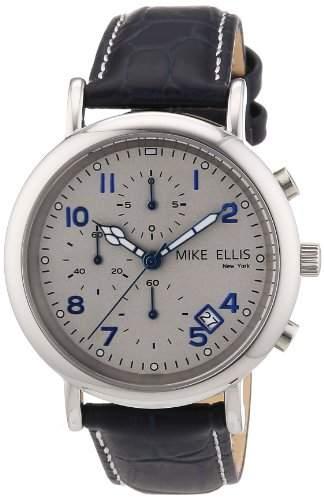 Mike Ellis New York Herren-Armbanduhr XS Analog Quarz Leder M2690SSL1